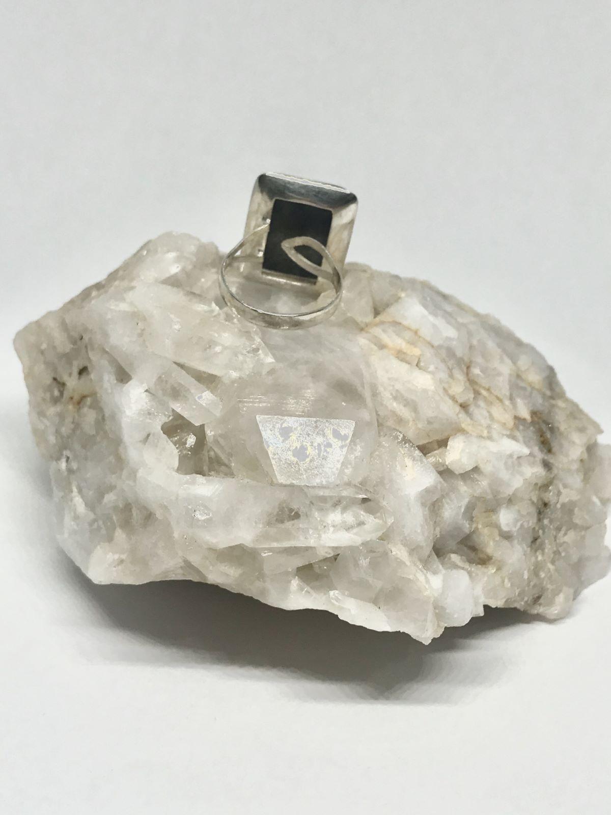 Anillo de Plata con Lapislázuli